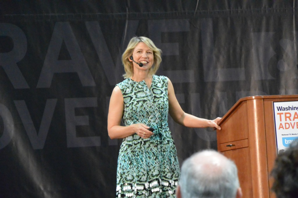 Samantha Brown on Stage