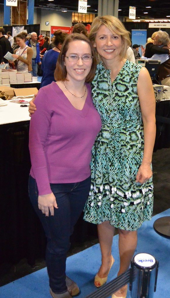Jess with Samantha Brown