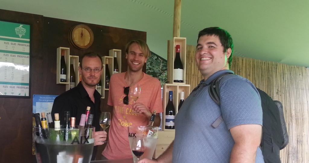 Sean at Wine Festival