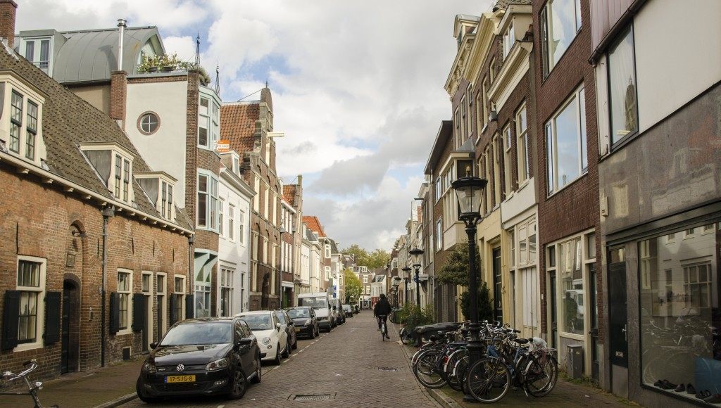 Day trip to Utrecht: Typical street