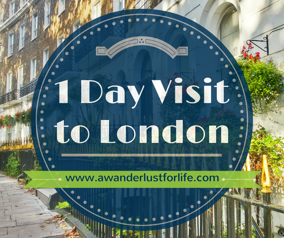1 Day Visit to London