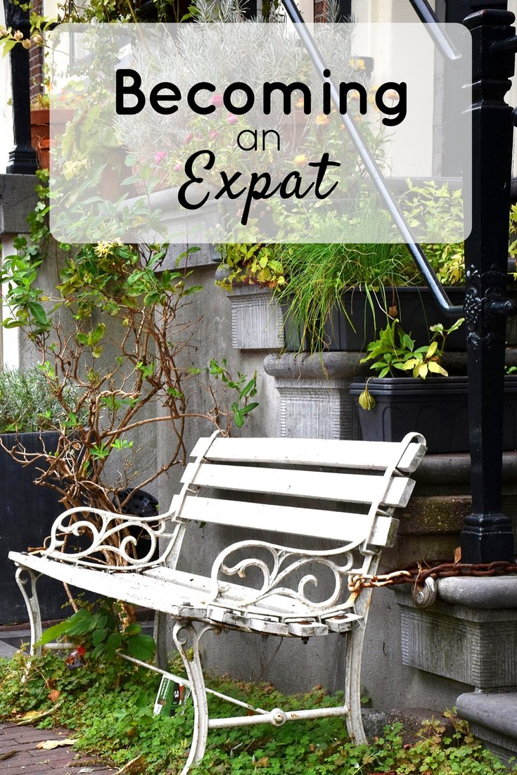 Becoming an expat pin