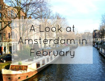 A Look at Amsterdam in February