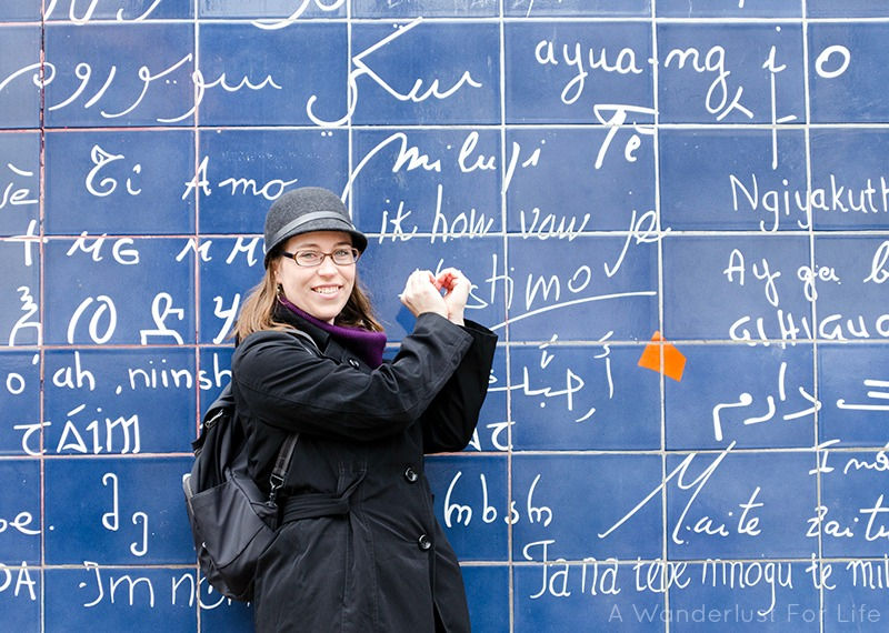 Paris Love Wall