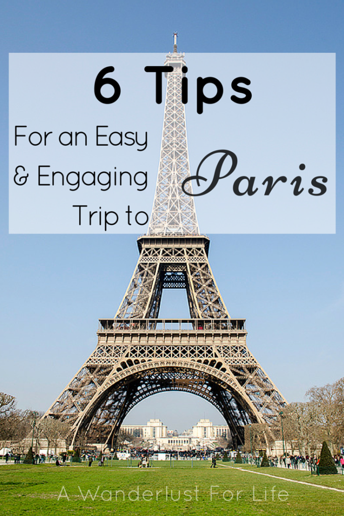 6 Tips for a Trip to Paris