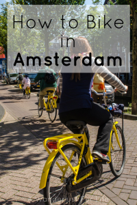 How to Bike in Amsterdam