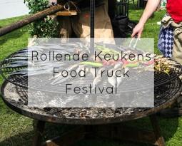 Rollende Keukens Food Truck Festival in Amsterdam