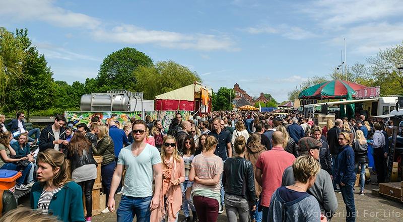 Rollende Keukens Amsterdam : Rollende keukens food truck festival in amsterdam