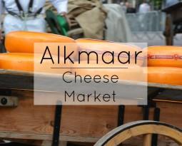 Alkmaar: Cheese Market in North Holland