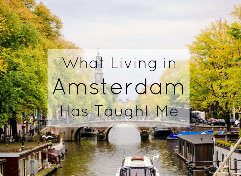 Living in Amsterdam