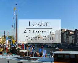 Leiden: A Charming Dutch Town