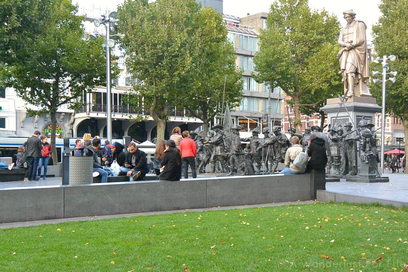 Picnic on Rembrandtplein