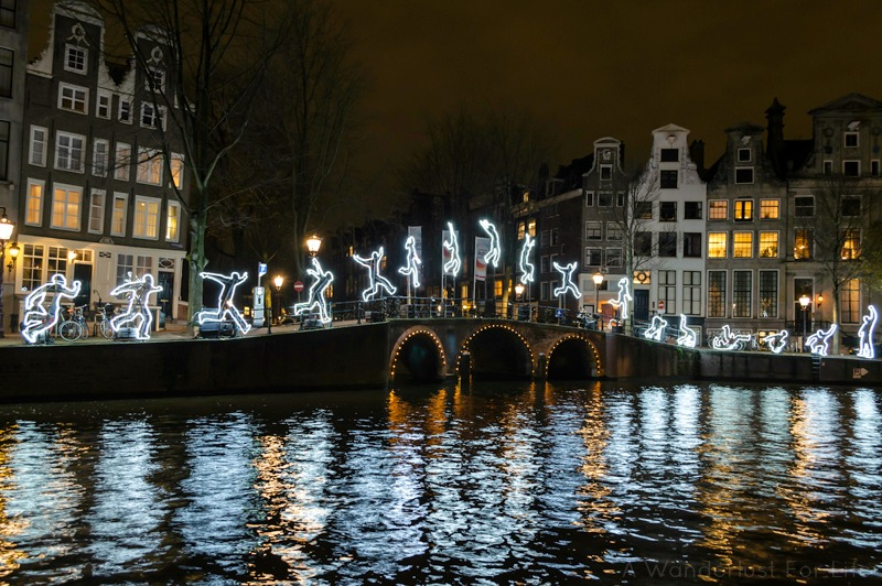 Amsterdam Light Festival Run Beyond