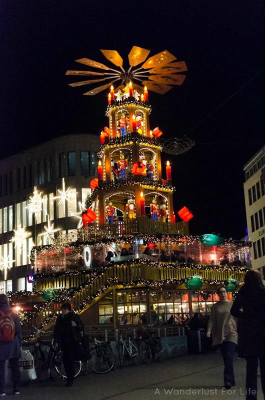 christmas pyramid in hannover germany hanover