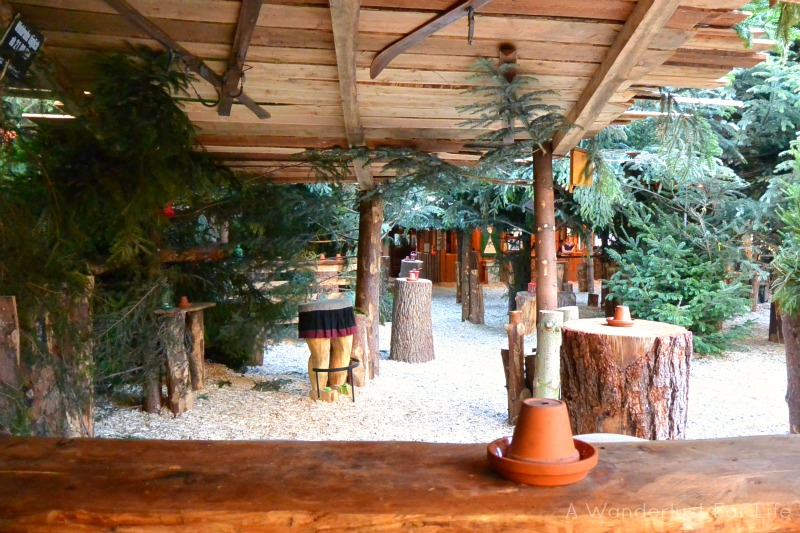 Wooded German Christmas Market Hannover Germany (Hanover)