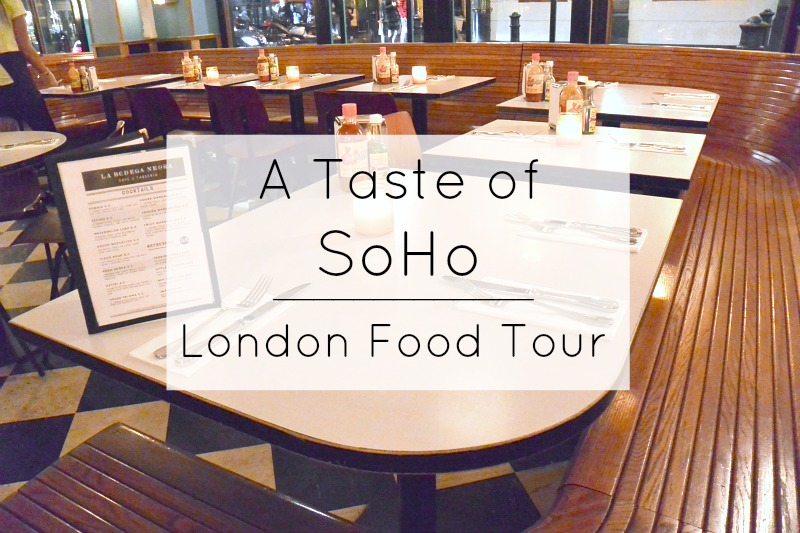 Soho London Food tour