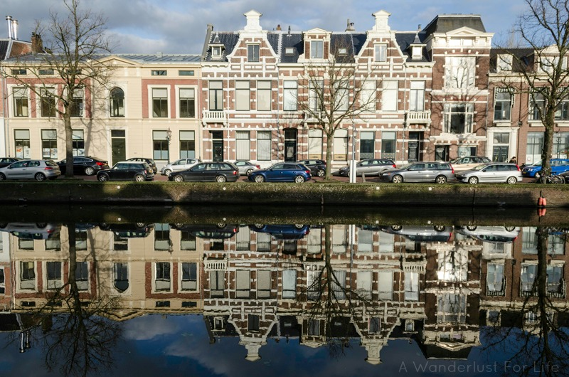 Haarlem Houses on a Canal