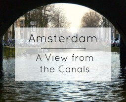 Photo Diary: A View from the Amsterdam Canals