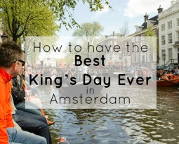 How to have the best King's Day Ever in Amsterdam