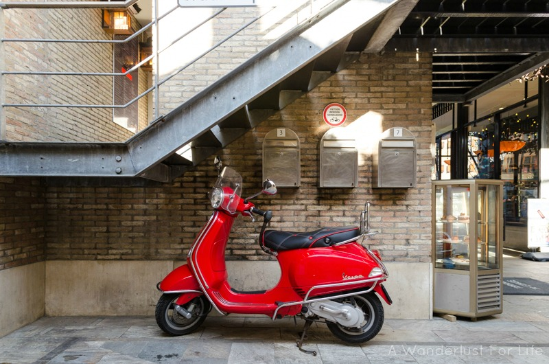 The Hague Vespa