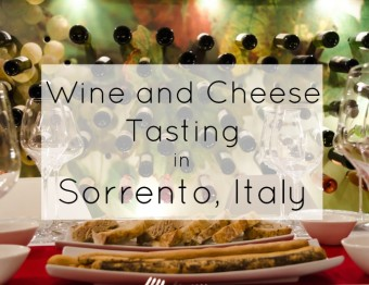 Wine and Cheese Tasting in Sorrento