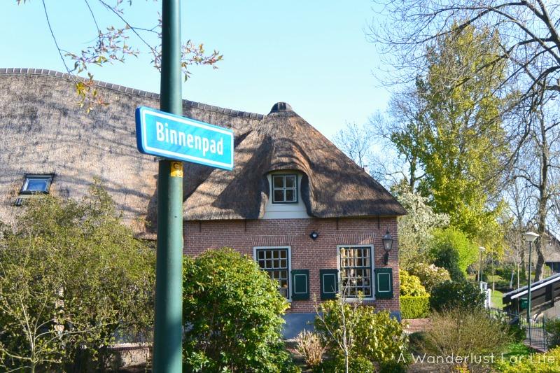 Day trip to Giethoorn binnenpad