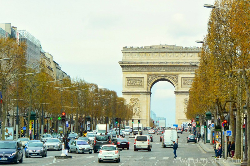 Paris Arc Du Triomphe