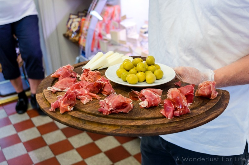 Food Tours Stockholm Meat Tray