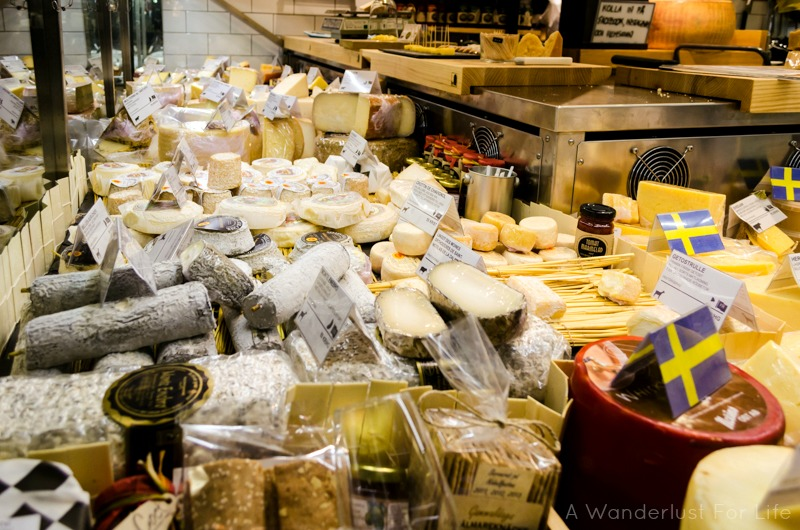 Stockholm Food Tour Cheese