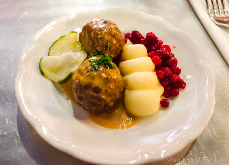 Food Tours Stockholm Swedish Meatballs