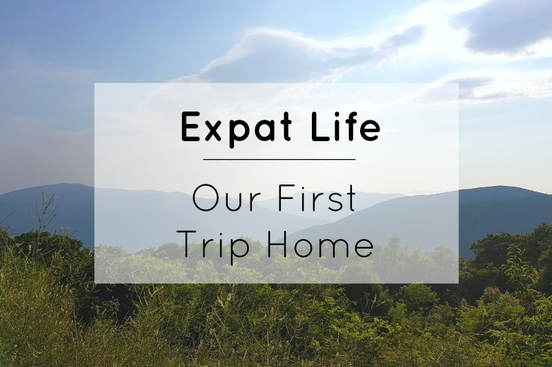 Expat Life: Our First Trip Home