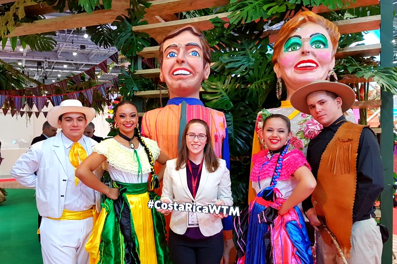 Costa Rica at the World Travel Market