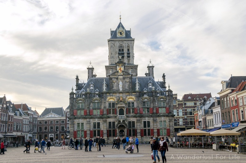 Delft Groot Market City Hall