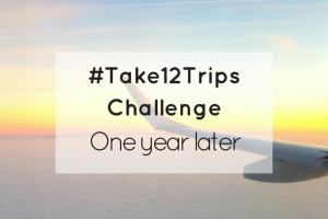 Take 12 Trips Challenge...are you up for it?
