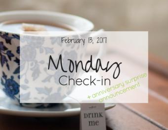 Monday Check-in (Feb 13th, '17)