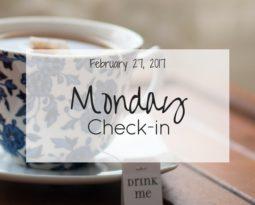 Monday Check-in (Feb 27th, '17)
