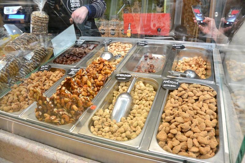 Nuts at Rose at Mercado de Campo de Ourique