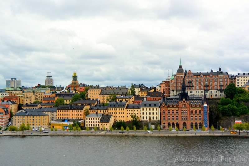 Rooftop tours of Stockholm