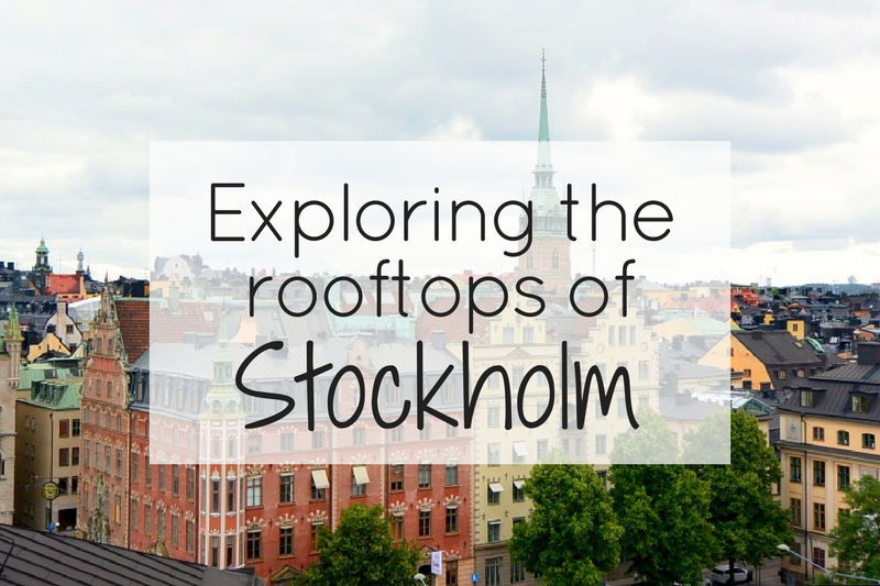 Exploring the rooftops of Stockholm