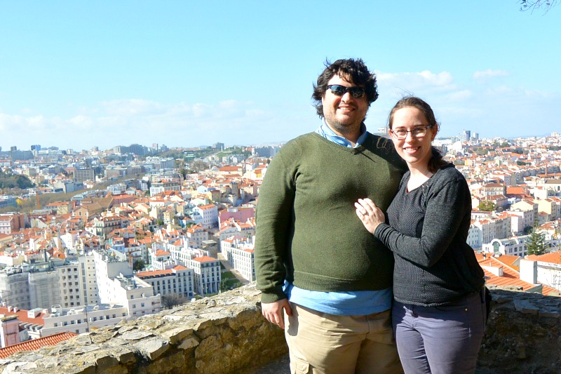 Secret anniversary trip to Lisbon