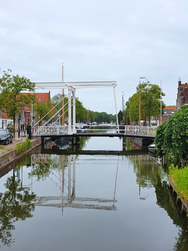 Bridges in Edam - only a quick trip from Amsterdam