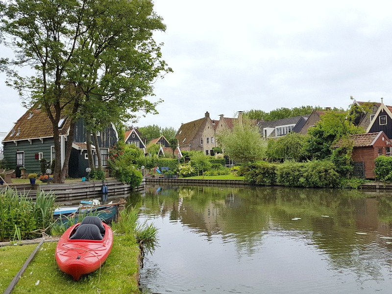 Kayak in Edam