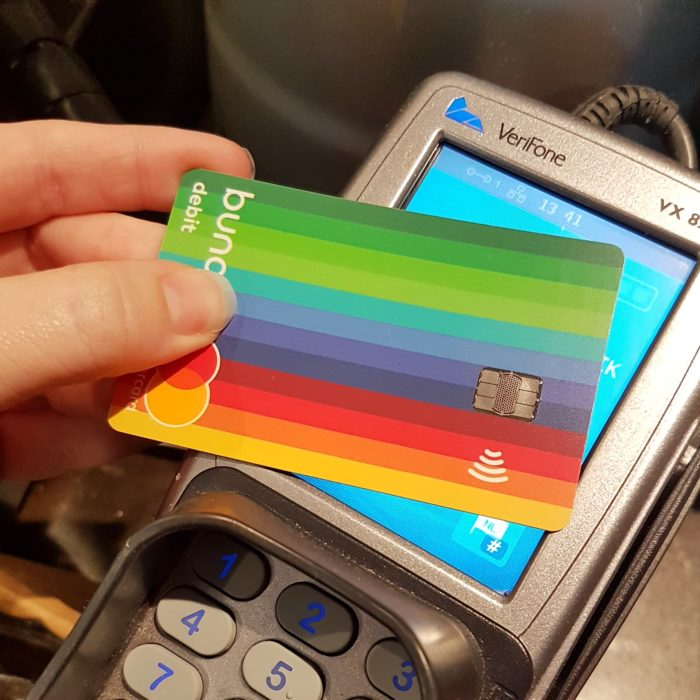 bunq bank card mastercard
