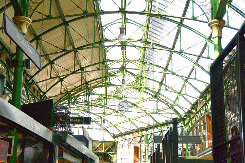 Borough Market Ceiling On London Food Tour