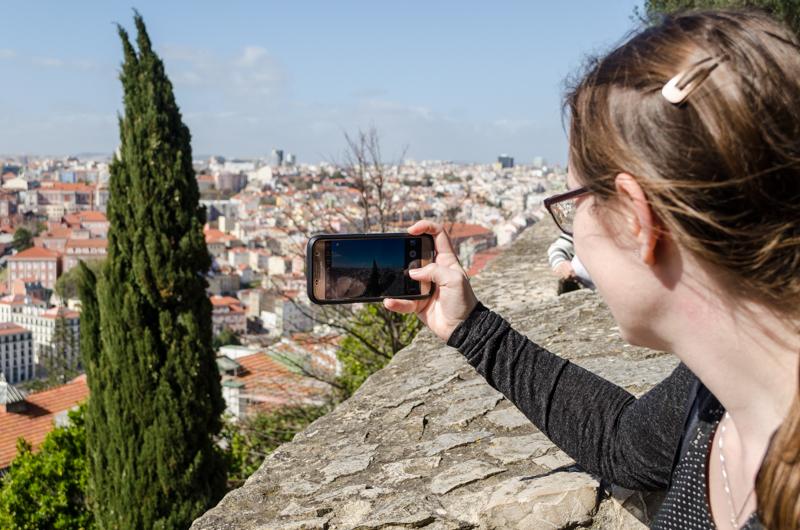 Jessica picture taking