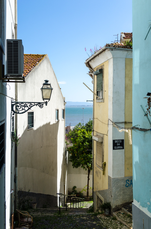 Alleys of Lisbon