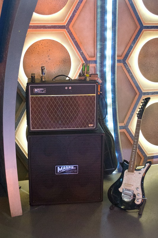 Guitar from Doctor Who
