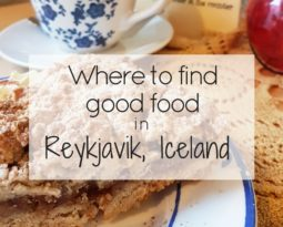 Where to find good food in Reykjavik, Iceland