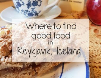 Delicious places to eat in Reykjavik, Iceland