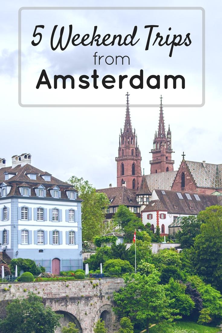 Basel Switzerland - 5 Weekend trips from Amsterdam